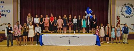 Congrats to our new NJHS cohort.
